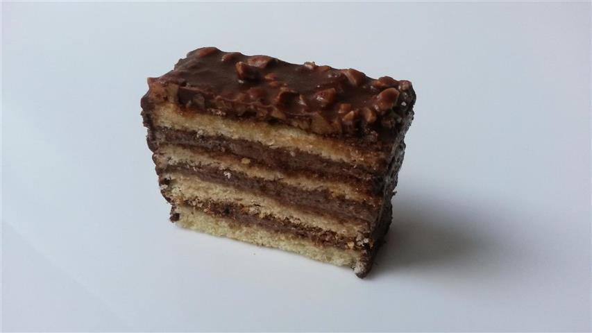 Čokoládový řez (7,50 Kč)